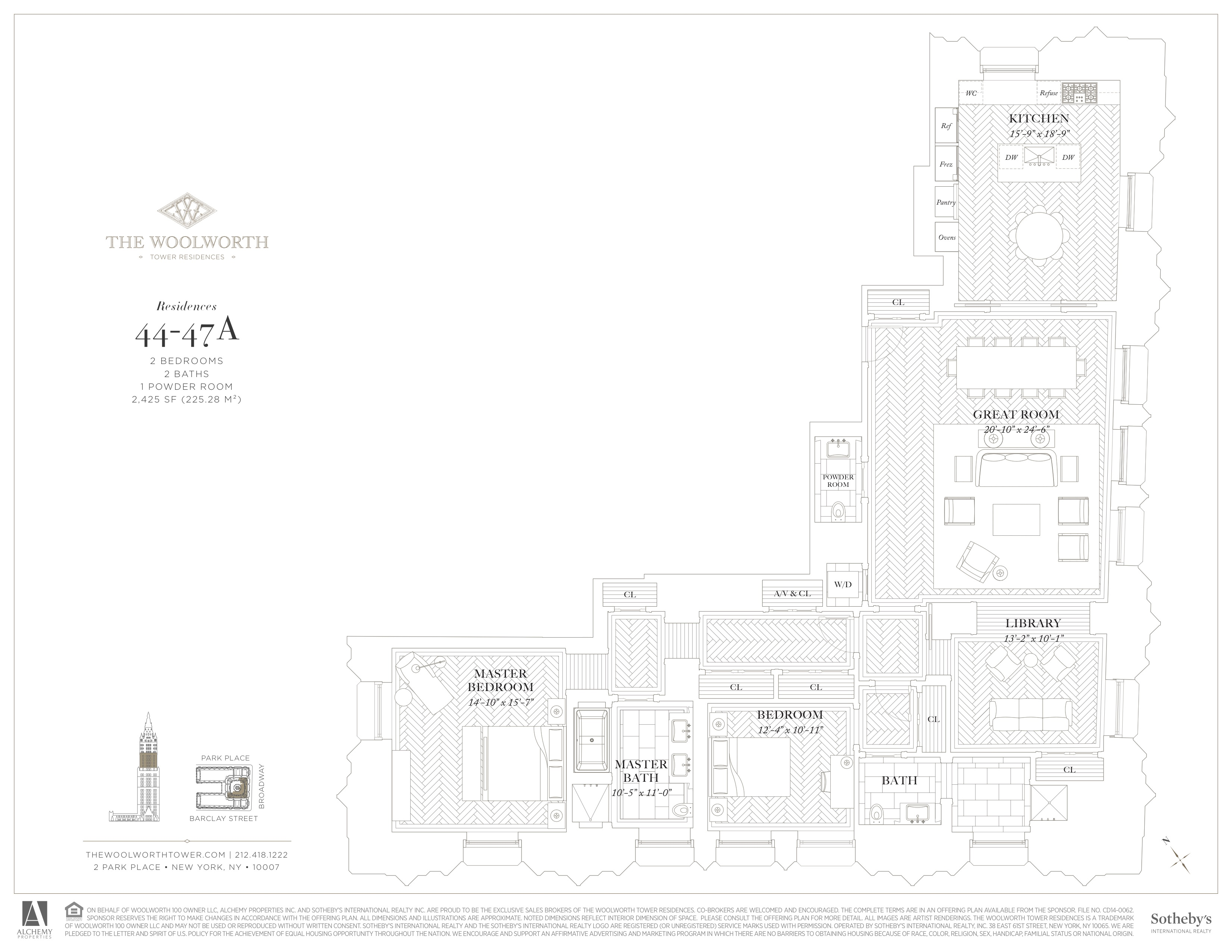 Luxury Tribeca Condominiums   The Woolworth Tower Residences